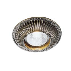 Cast Downlight LED Bronze Finish