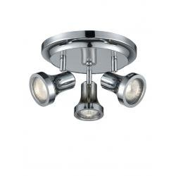 IP44 Bathroom 3 light spot. Chrome Finish