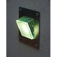 LED Glass Layers Step or Wall Light