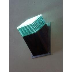 Mini Angled Glass Layer Wall Light