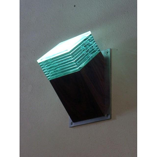 Mini Angled Glass Layer Wall Light