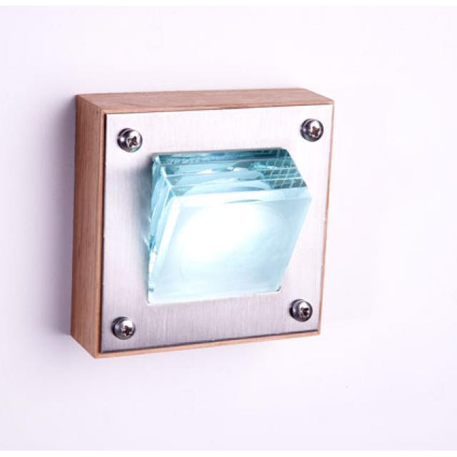 Surface LED Glass Layers Step Light