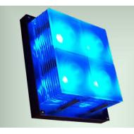 LED Square Glass Layers Wall Light