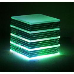 LED Colour Changing Glass Blocks