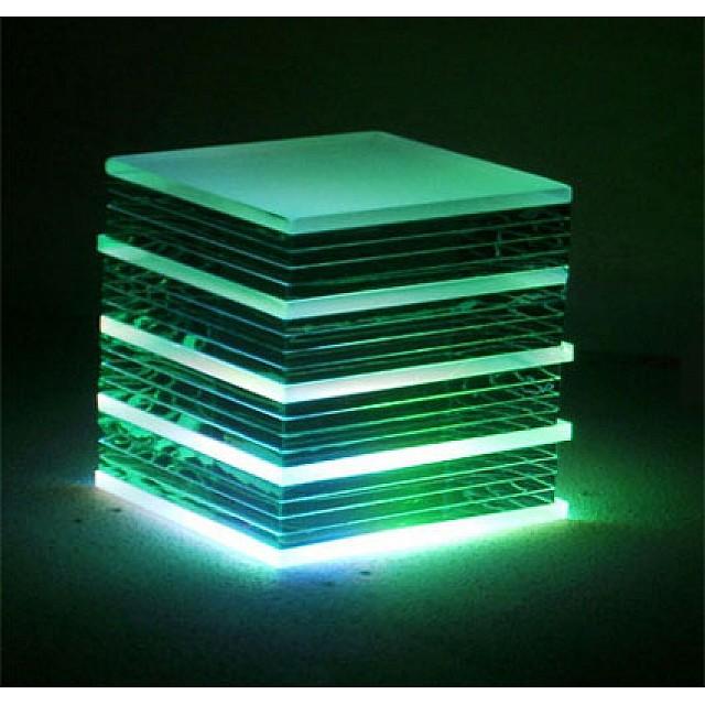 LED Colour Changing Glass Blocks