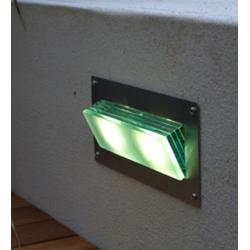 LED Glass Layers Brick or Wall Light