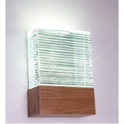 LED Glass Flush Indoor Wall Light
