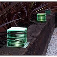 Mini LED Glass Cube Layer Block