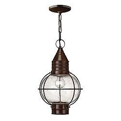 Capecod 1 Light Chain Lantern