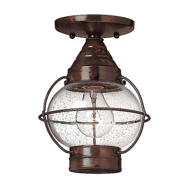 Capecod 1 Light Flush Lantern