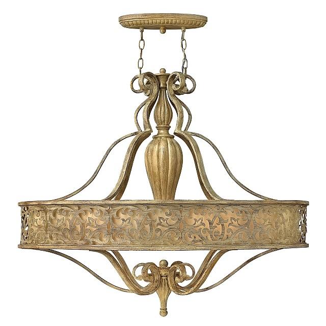 Carabel 6 Light Oval Chandelier