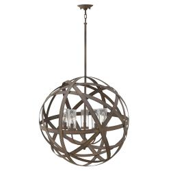 Carson 5 Light Outdoor Chandelier