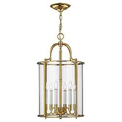 Gentry 6 Light Large Pendant - Polished Brass