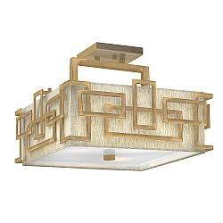 Lanza 3 Light Semi Flush Mount - Brushed Bronze