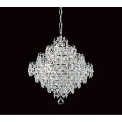 12 Light Crystal Strass Chandelier