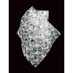 Shaped Lead Crystal Wall Light