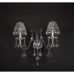 Strass Range Lead Crystal Wall Light