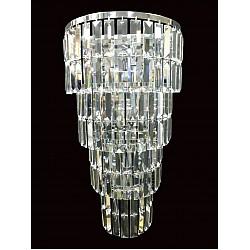 Padue Long Crystal Wall Light