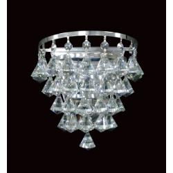 Parma Crystal Wall Light Chrome