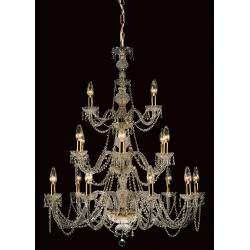18 Light Chandelier with Strass Crystal