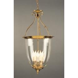 Lantern Bell Shaped Glass Pendant