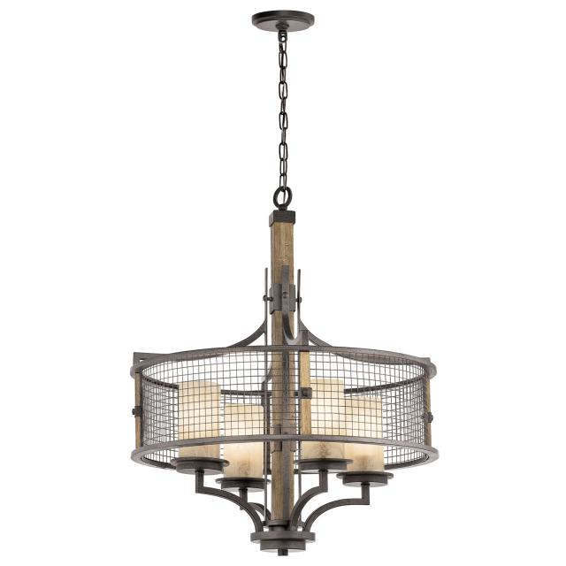 Ahrendale 4 Light Chandelier
