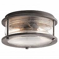 Ashlandbay 2 Light Outdoor Ceiling Flush