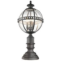 Halleron 3 Light Pedestal Lantern