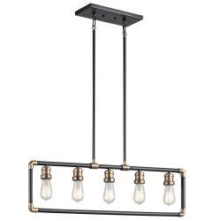 Imahn 5 Light Linear Chandelier