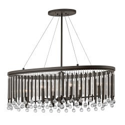 Piper 6 Light Oval Chandelier/Pendant