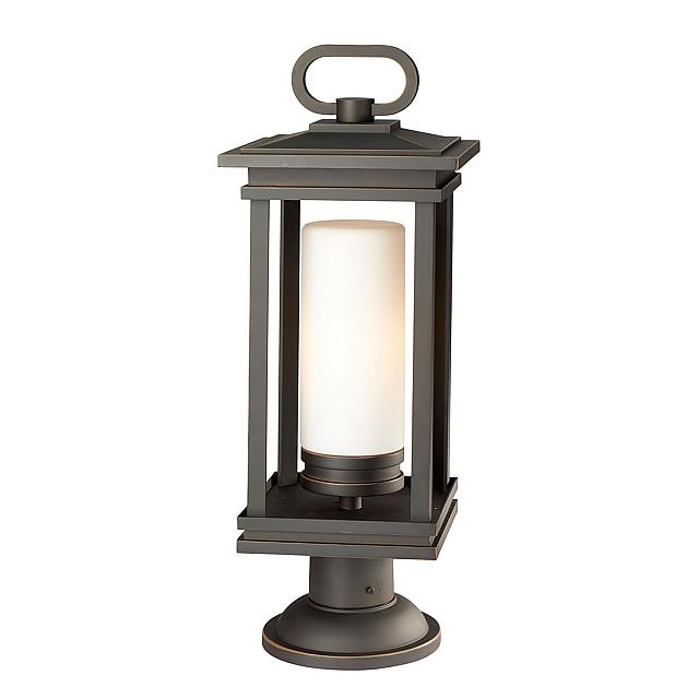 South Hope 1 Light Large Pedestal