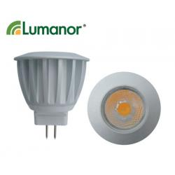 Lumanor LED 3W COB MR11 Warm White