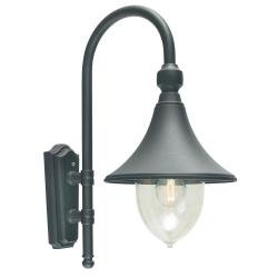 Firenze 1 Light Wall Lantern - Black