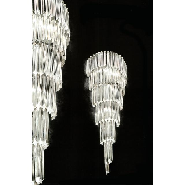 Colonna Wall Light With Murano Glass