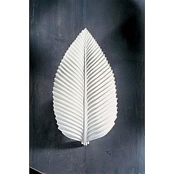 Charme Plaster 3D Central Leaf Wall Light