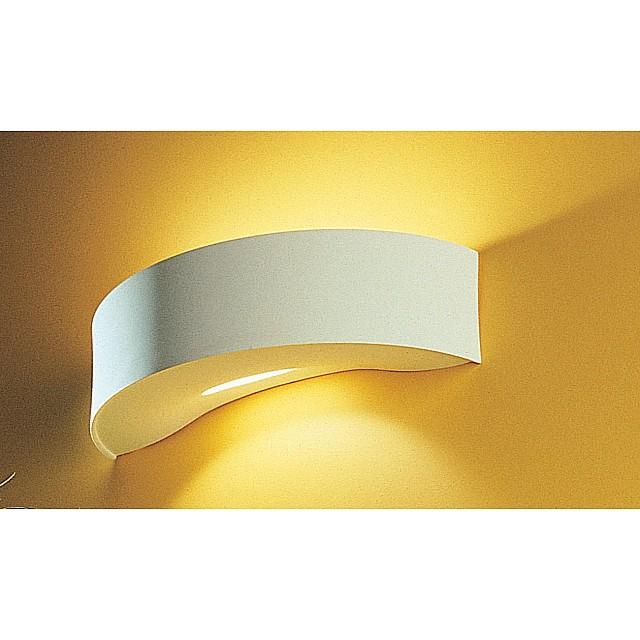 Bandeau Compact Circular Plaster Wall Light