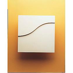 Nivid Plaster Rectangle Pattern Wall Light