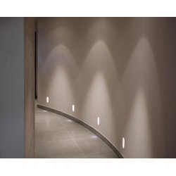 LED Plaster Recessed Wall Light