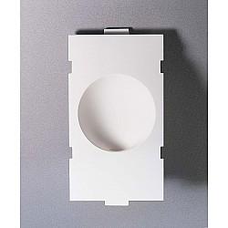 Sphere LED Plaster Recessed Wall Light