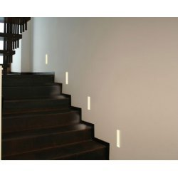 Soft LED Plaster Recessed Wall Light