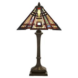Classic Craftsman 2 Light Table Lamp