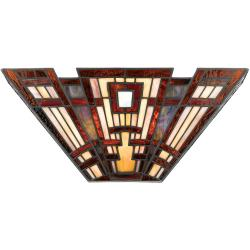 Classic Craftsman 2 Light Wall Uplighter