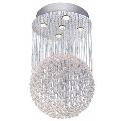 Quadro stylish crystal chandelier