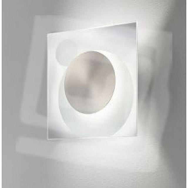Grossman Sqaure Glass Wall Light
