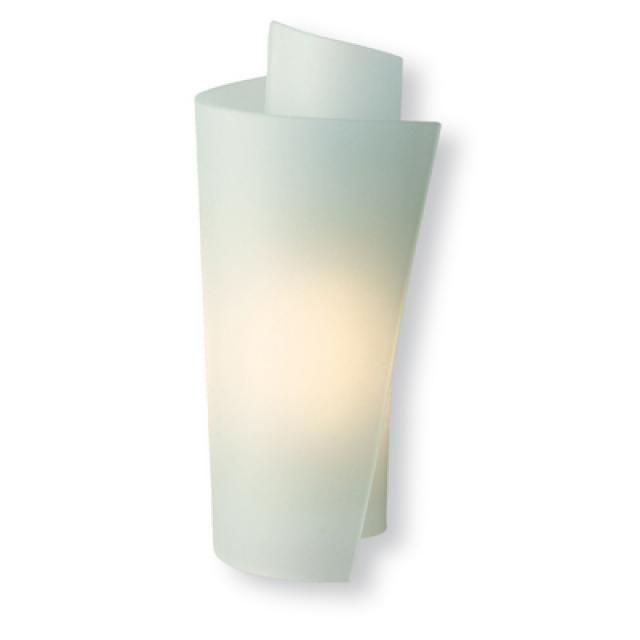 Firstlight WL223SS Vetro Satin Steel & Acid Glass Wall Light