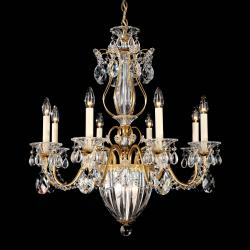 Bagatelle 11 Light Chandelier in Heirloom Gold with Clear Spectra Crystal