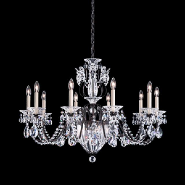 Bagatelle 13 Light Chandelier in Heirloom Bronze with Clear Spectra Crystal