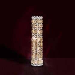 Sarella 3 Light Table Lamps in Heirloom Gold with Crystal Crystals From Swarovski
