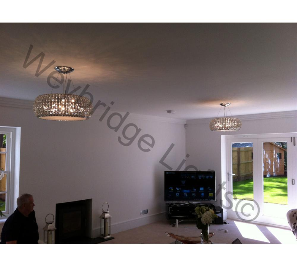 Whole House Lights supplied to a client in Ascot 2014