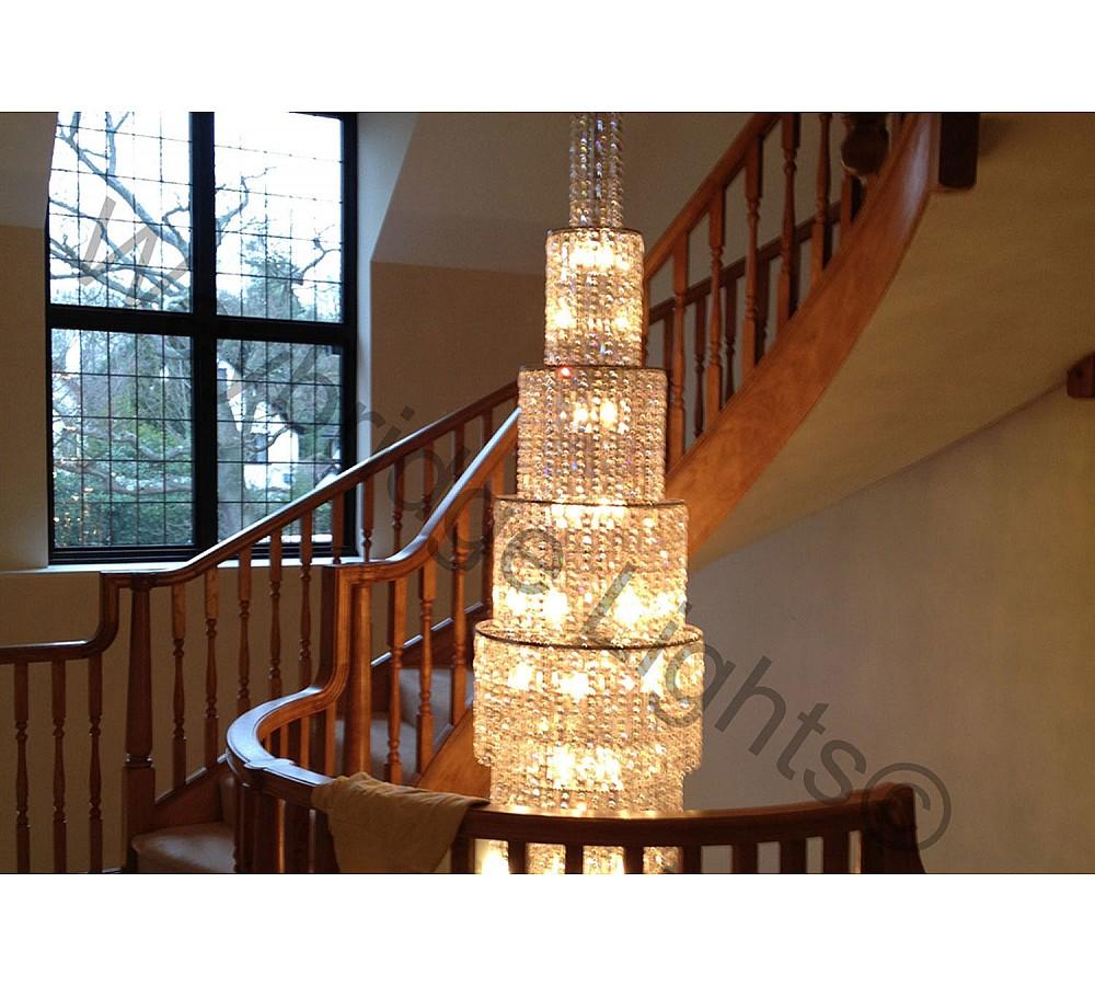 Bespoke Stairwell Light - Ashley Park, Surrey 2013